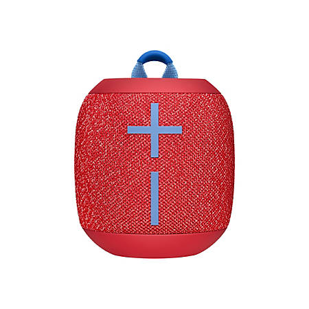 Ultimate Ears WONDERBOOM 2 Portable Bluetooth Speaker System - Radical Red - 75 Hz to 20 kHz - 360? Circle Sound - Battery Rechargeable