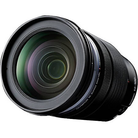 "Olympus M.ZUIKO DIGITAL - 12 mm to 100 mm - f/4 - Zoom Lens for Micro Four Thirds - Designed for Camera - 72 mm Attachment - 0.21x Magnification - 8.3x Optical Zoom - Optical IS - 4.6""Length - 3.1""Diameter"