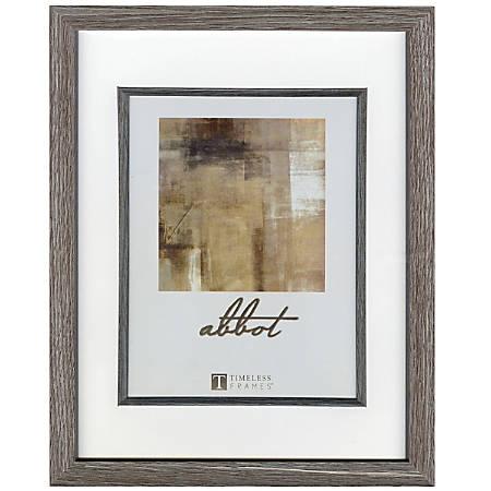 """Timeless Frames® Abbot Frame, 6"""" x 8"""", Gray"""