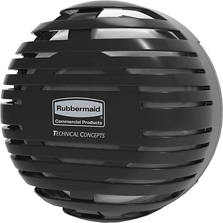 Rubbermaid Commercial® TCell™ 2.0 Air Freshener Dispenser, Black