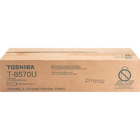 Toshiba T8570U Original Toner Cartridge - Black - Laser - 73900 Pages - 1 Each