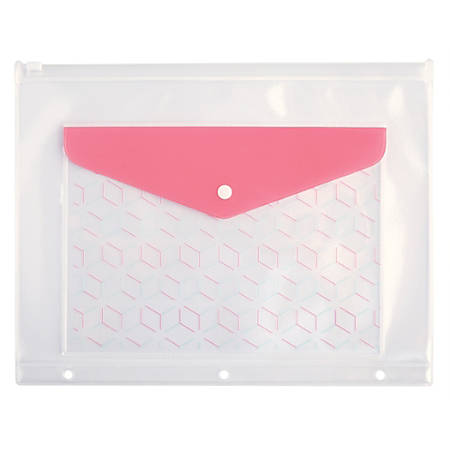 Office Depot® Brand Double Binder Pocket, Letter Size, Cube