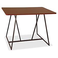 Safco Oasis Standing Height Teaming Table