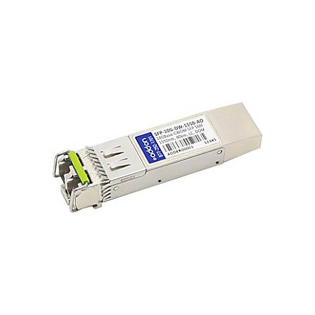 AddOn Arista Networks SFP-10G-DW-1550 Compatible TAA Compliant 10GBase-CWDM SFP+ Transceiver (SMF, 1550nm, 40km, LC, DOM)