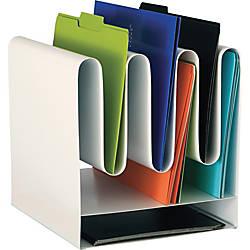 Safco Wave Desktop File Organizers 7
