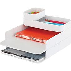 Safco Stacking Plastic Desktop Sorter Sets