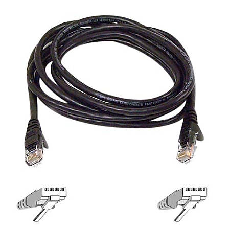 Belkin 900 Series Cat. 6 UTP Patch Cable - RJ-45 Male - RJ-45 Male - 10ft