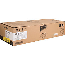 Sharp MX 315NT Black original toner