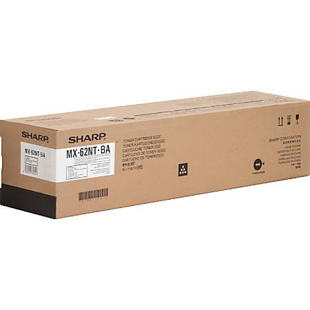 Sharp MX-62NT-BA - Black - original - toner cartridge - for Sharp MX-6240N, MX-6500N, MX-7040N, MX-7500N
