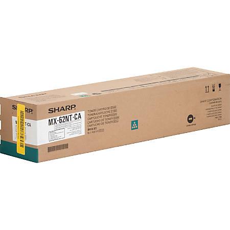 Sharp MX-62NT-CA - Cyan - original - toner cartridge - for Sharp MX-6240N, MX-6500N, MX-7040N, MX-7500N