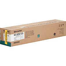 Sharp MX 62NT CA Cyan original