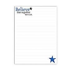The Master Teacher Believe Series Notepads
