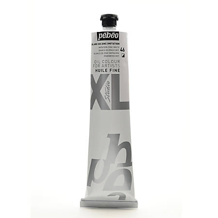 Pebeo Studio XL Oil Paint, 200 mL, Imitation Zinc White, Pack Of 2