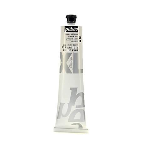 Pebeo Studio XL Oil Paint, 200 mL, Titanium White, Pack Of 2