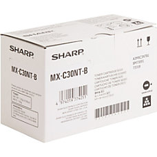 Sharp MX C30NTB Black original toner