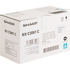 Sharp MX C30NT C Cyan original