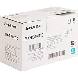 Sharp Original Toner Cartridge Cyan Laser