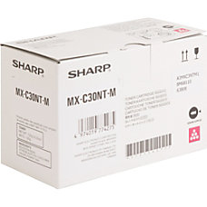 Sharp Toner Cartridge Magenta Laser High