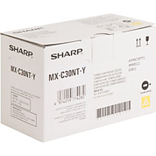 Sharp Toner Cartridge Yellow Laser Standard