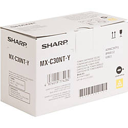 Sharp Original Toner Cartridge Yellow Laser