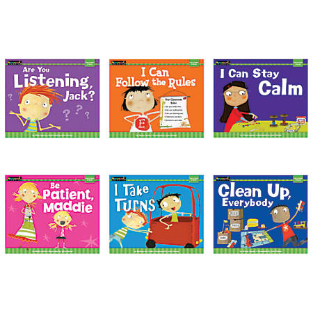 Newmark Learning MySELF Readers: I Am In Control Of Myself, Pre-K - Grade 3, Set Of 6
