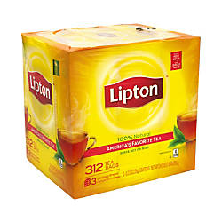 Lipton 100percent Natural Black Tea Bags