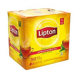 Lipton 100percent Natural Black Tea Bags