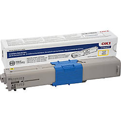 Oki Original Toner Cartridge Yellow LED