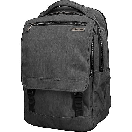 "Samsonite® Modern Utility Carrying Case Backpack With 15.6"" Laptop Pocket, Charcoal"