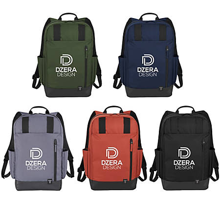 """Tranzip Computer Day Pack With 15"""" Laptop Pocket, Assorted Colors"""
