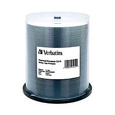 Verbatim CD R 700MB 52X White