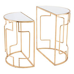 Zuo Modern Roma End Tables Crescent