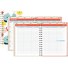 Office Depot Brand Blooms WeeklyMonthly Planner