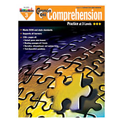 Newmark Learning Common Core Comprehension Workbook