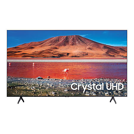 "Samsung UN58TU7000F - 58"" Class (57.5"" viewable) - 7 Series LED TV - Smart TV - Tizen OS - 4K UHD (2160p) 3840 x 2160 - HDR - New Direct Backlight - titan gray"