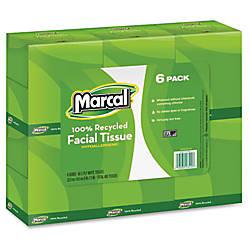 Marcal 2 ply Cube Box Facial