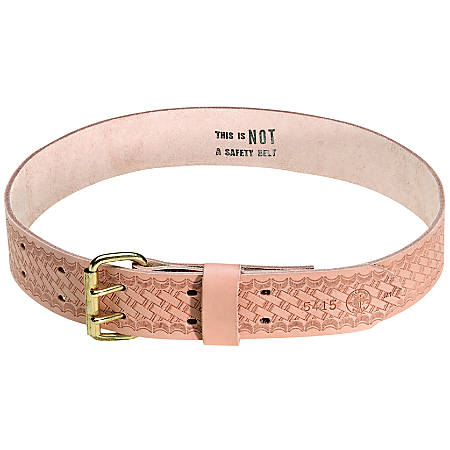 WAIST BELT; 5415 Heavy-Duty Embossed Tool Waist Belt