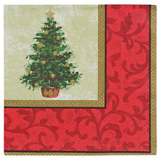 Amscan Classic Christmas Tree 2 Ply