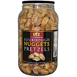 Utz Sourdough Nugget Pretzels 34 Oz