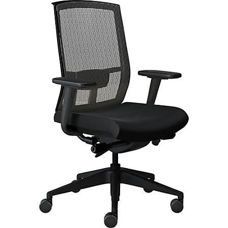 Safco® Gist Mesh Task Chair, Black