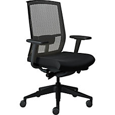 Safco Gist Mesh Task Chair Black