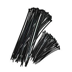 Cosco Nylon Zip Ties Black Pack
