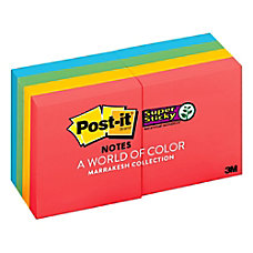 Post it Super Sticky Notes 2