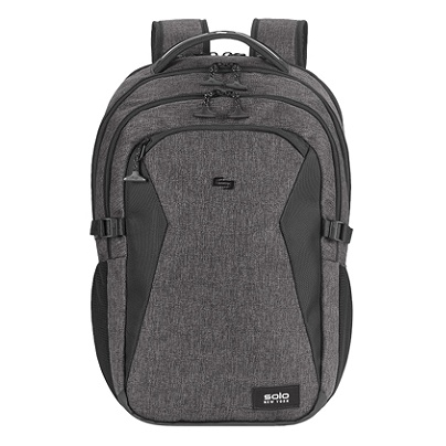 492b14595f7e Solo Unbound Backpack With 15.6 Laptop Pocket Gray - Office Depot