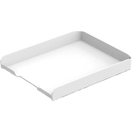 "Bostitch Konnect Storage Tray - 1.8"" Height x 10.3"" Width12.3"" Length - Desktop - White - 1Each"