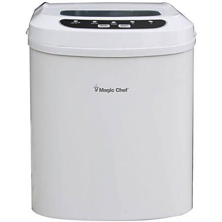Magic Chef® 27 Lb Portable Countertop Ice Maker, White