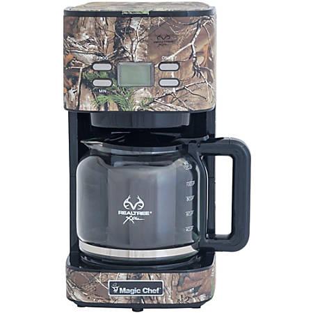 Magic Chef® 12-Cup Programmable Drip Coffee Maker, Realtree Xtra® Camo