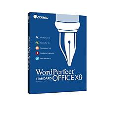 WordPerfect Office X8 Standard Upgrade Download