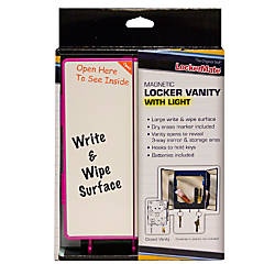 LockerMate Locker Vanity With Light 8