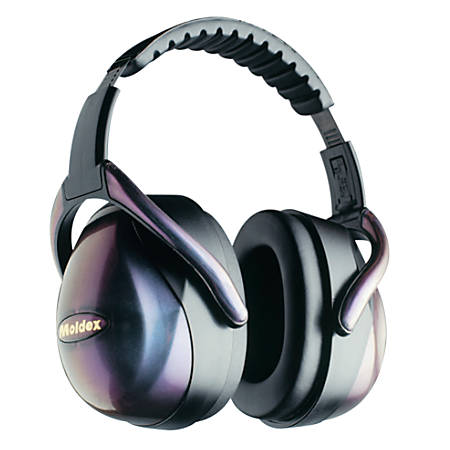 M1 Earmuffs, 29 dB NRR, Exclusive Iridescent Color, Spring Steel Band